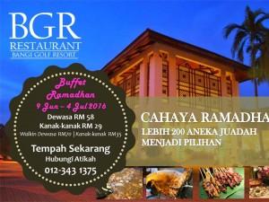 Bangi Golf Resort Pakej Buffet Ramadhan Murah