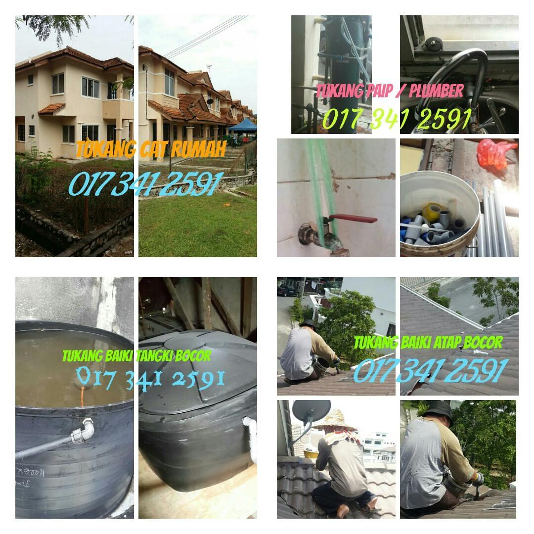 017 341 2591 Kontraktor Binaan Tukang Rumah Plumber Skudai Johor Bahru M Niaga