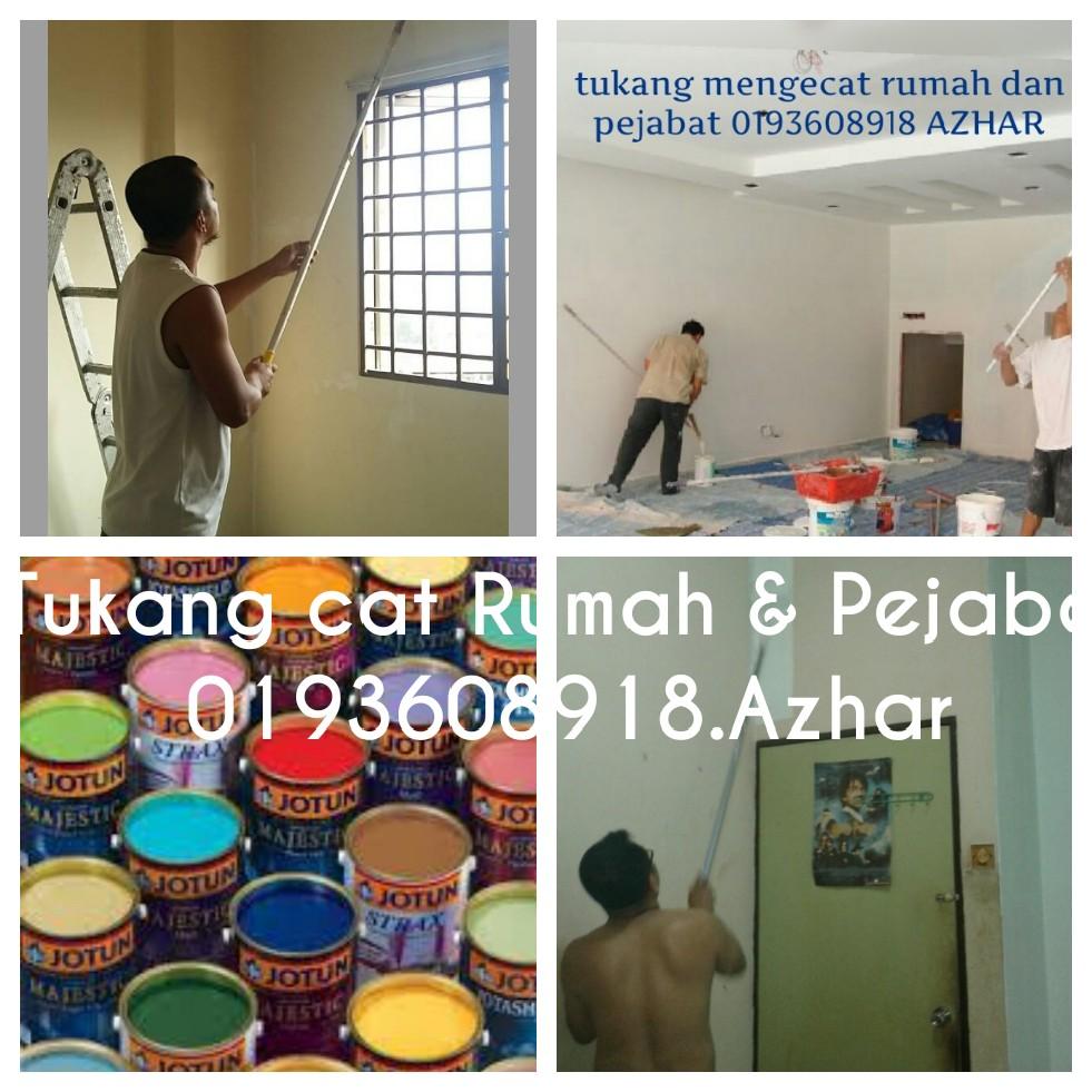 Tukang cat rumah Damai Perdana Cheras. 0193608918.Azhar ...